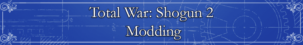 Total War: Shogun 2 Modding Banner