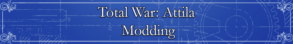 Total War: Attila Modding Banner