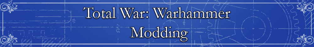 Total War: Warhammer Modding Banner
