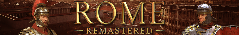 Banner for Total War: Rome Remastered