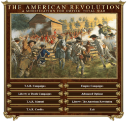 The American Revolution mod preview teaser